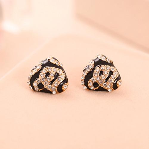 Leopard Print Earrings