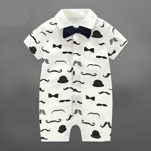 [FREE Today] Little Man Rompers for Babies