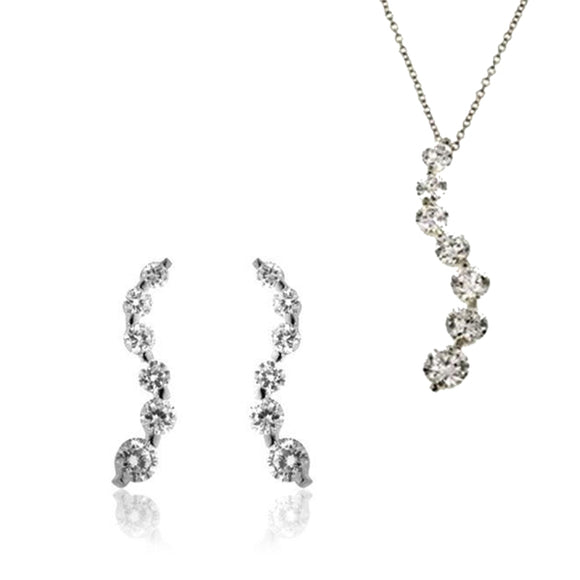 Classic Journey Necklace & Earrings