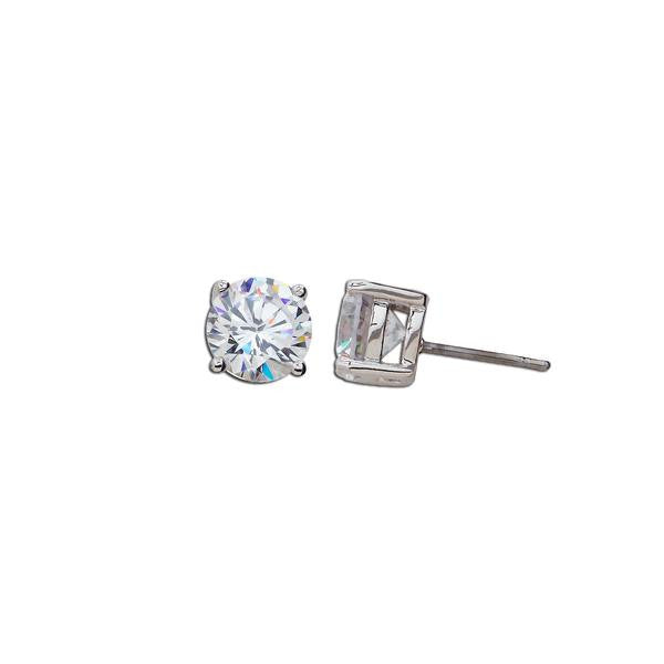 2.5ct Round Cut Stud Earrings