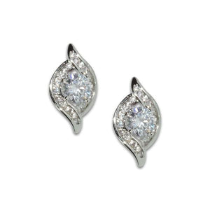 Solitaire Wrap Earrings