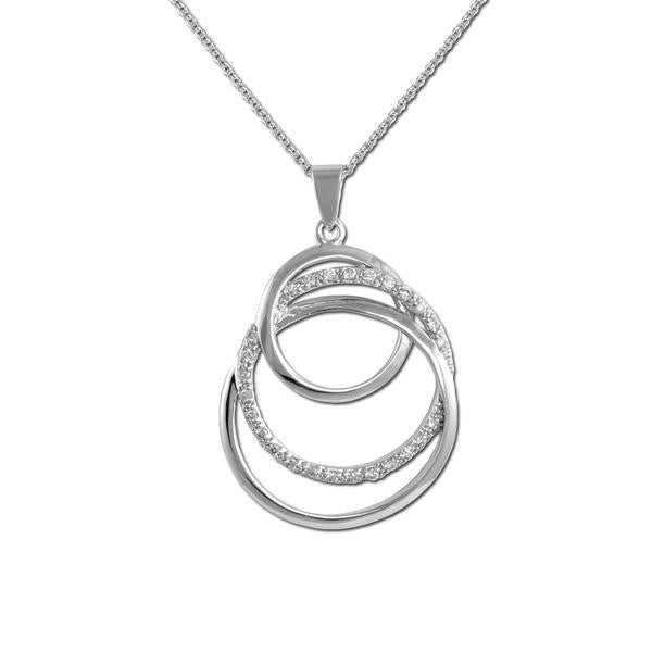 Intertwining Circles Necklace