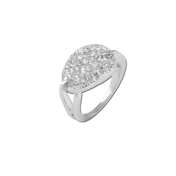 Pavé Loop Ring