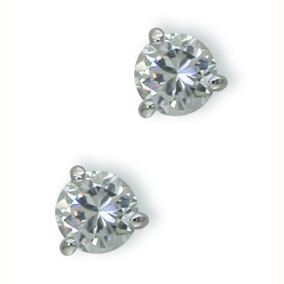 1 Carat Martini Stud Earrings
