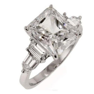 Princess Cut Imperial Ring
