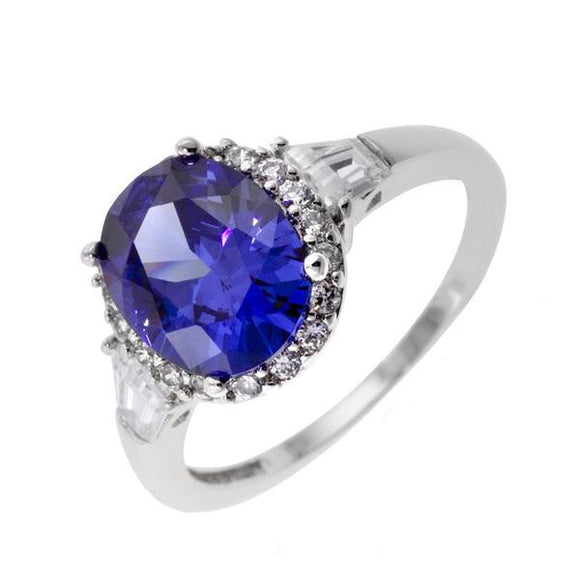 Tanzanite Oval Cut Ring