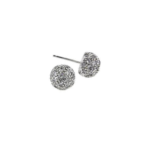 Pavé Dome Studs Earrings