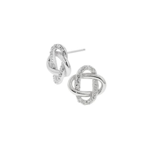 Intricate Pavé & Polished Oval Earrings