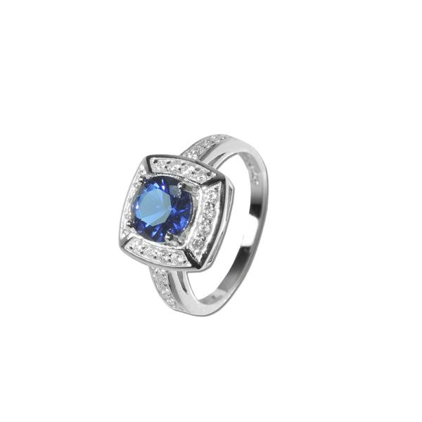 Sapphire Spinel Ring