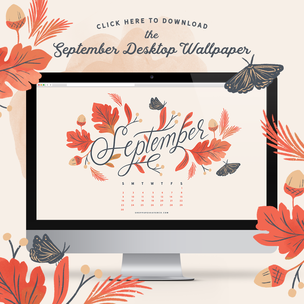 September 2018 Desktop Wallpaper