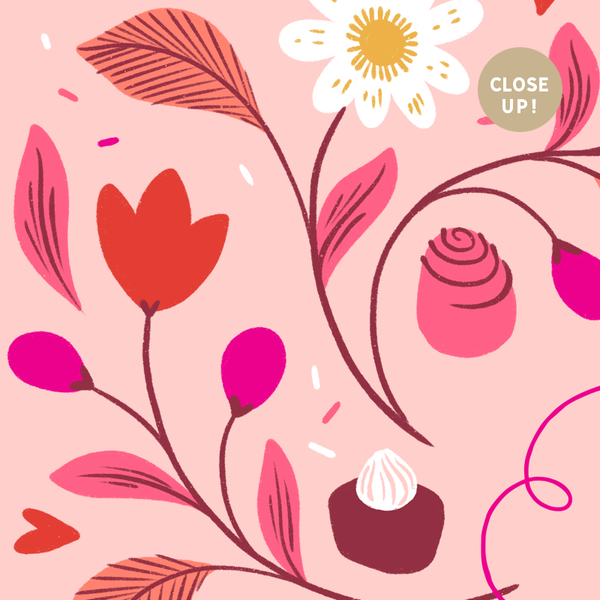 February 2019 Illustrated Desktop Download by Paper Raven Co.