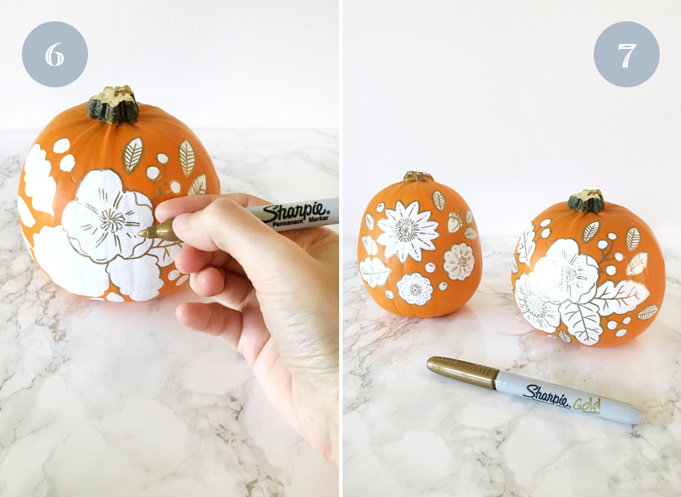 Paper Raven Co. - www.ShopPaperRavenCo.com - DIY Painted Pumpkins