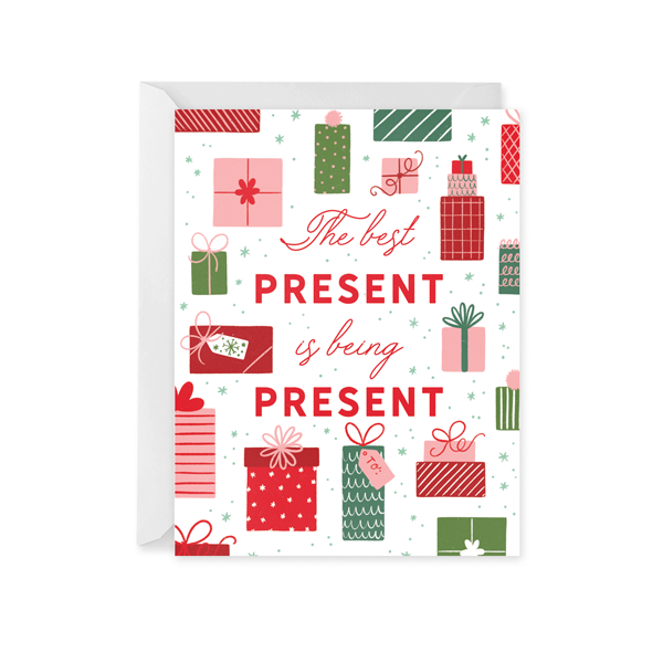 Being Present Holiday Card