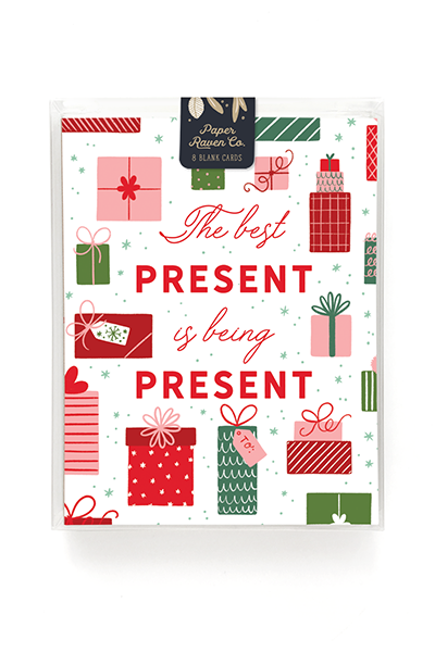 Being Present Holiday Card - Box Set of 8 1