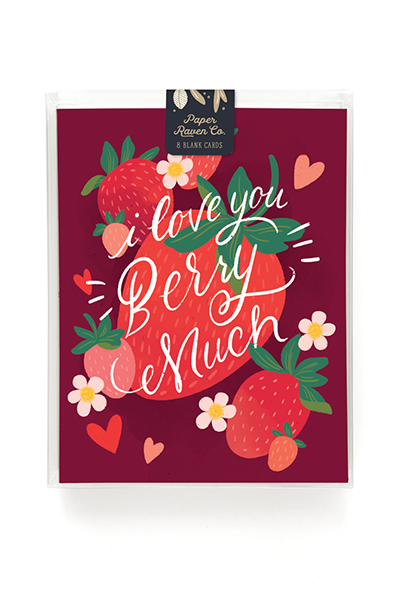 Berry Much Card - Box Set of 8