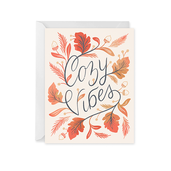 Cozy Vibes Card
