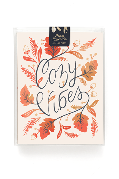 Cozy Vibes Card - Box Set of 8