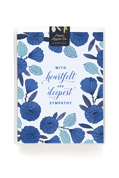Deepest Sympathies Card - Box Set of 8