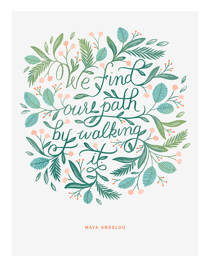 Find Our Path Fine Art Print