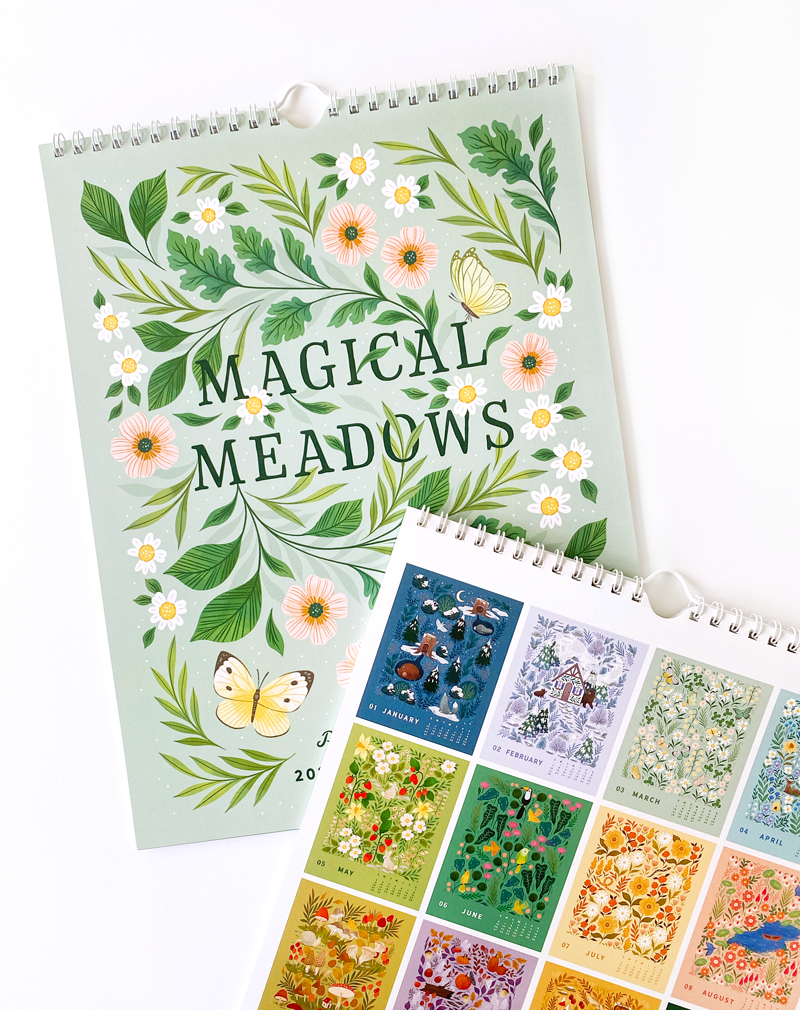 2021 Calendar: Magical Meadows