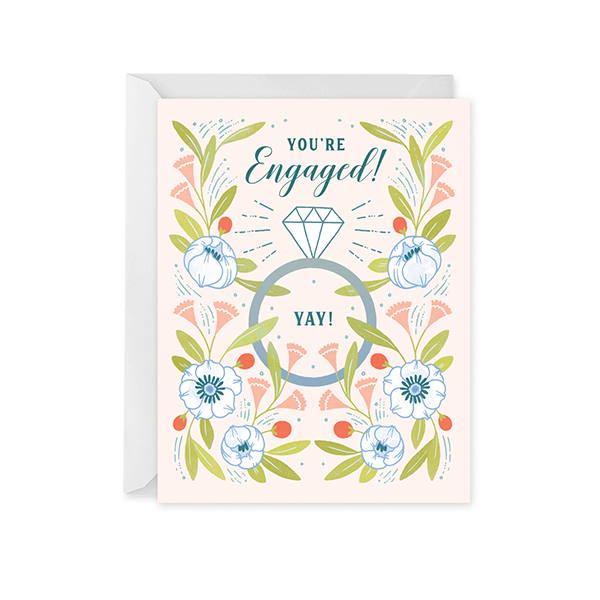 Garden Engagement Card