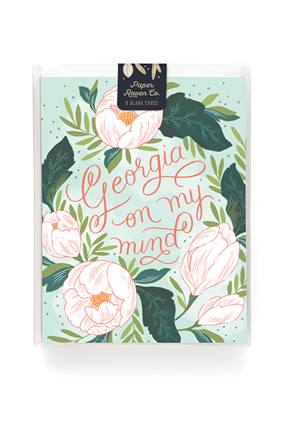Georgia On My Mind Card - Box Set of 8