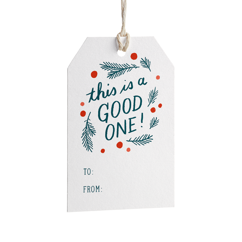 Good One Gift Tags - Set of 8