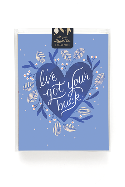 I've Got Your Back Card - Box Set of 8