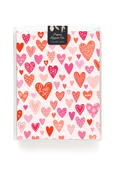 Happy Hearts Card