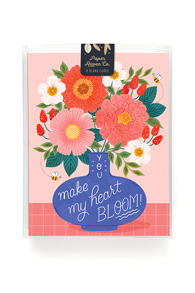 Heart Bloom Card