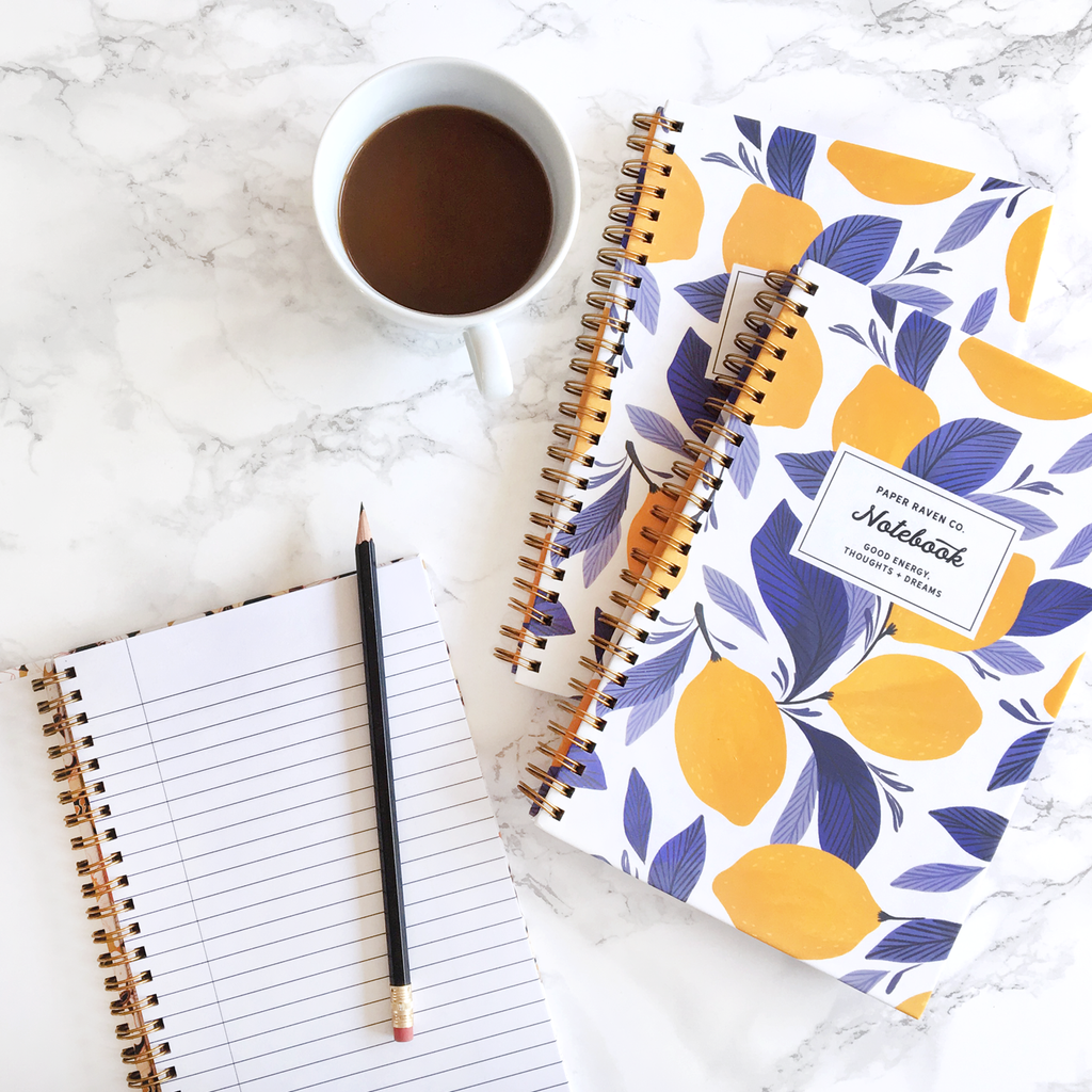 Lemonisa Spiral Notebook