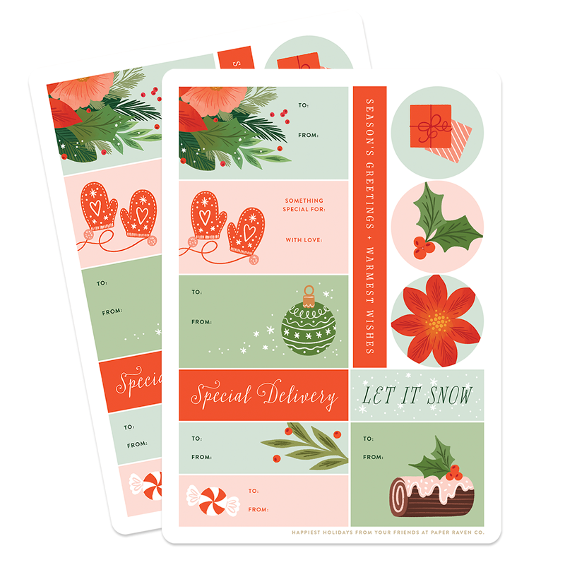 Holiday Gifting Stickers
