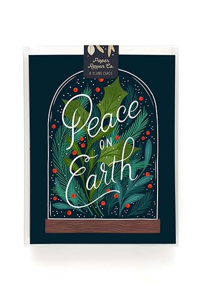 Holiday Terrarium Card