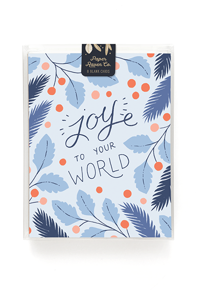 Joy to Your World Holiday Card