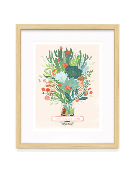Little Terrarium Fine Art Print