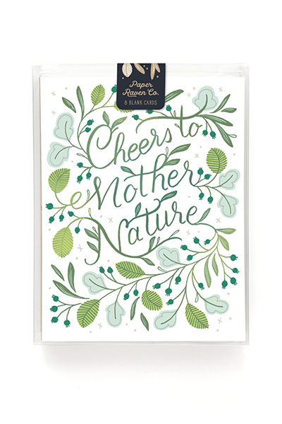 Mother Nature Card - Box Set of 8