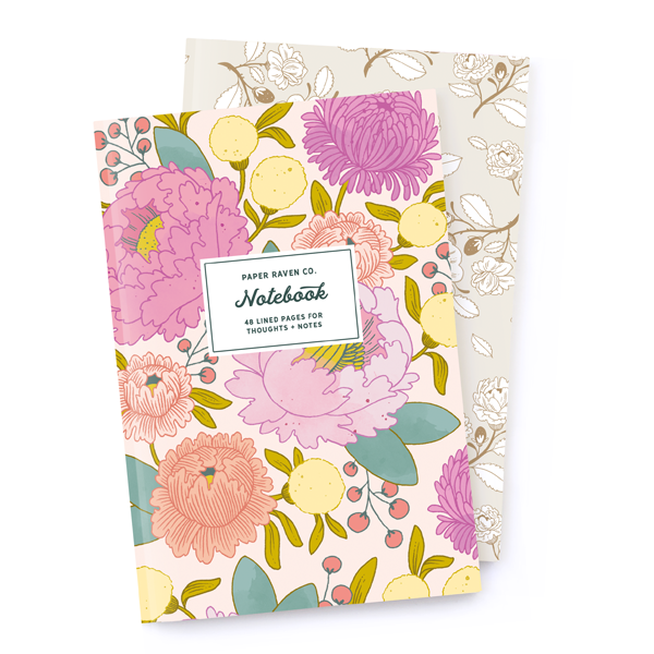 Notebook Set: Royal Rose Gold + Principessa
