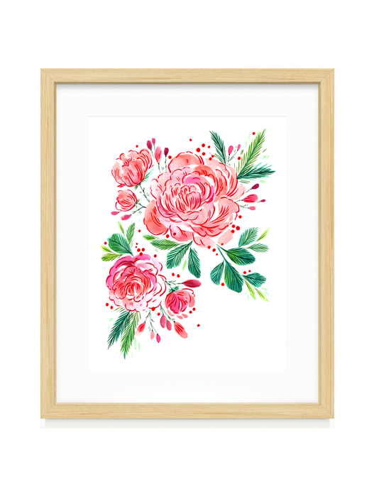 Mood Series 002: The Rose Fine Art Print