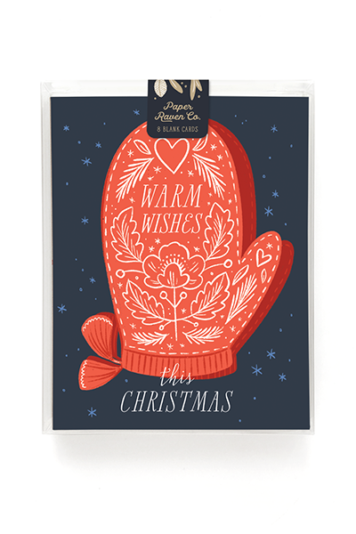 Warm Wishes Holiday Card - Box Set of 8