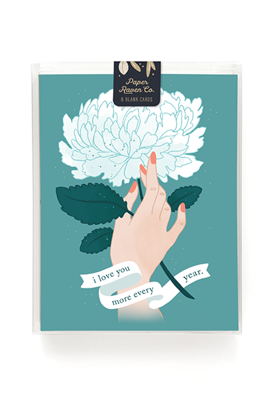 Love Grows Anniversary Card