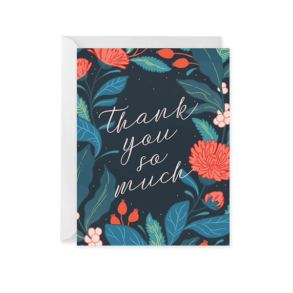Wildwood Thank You Card