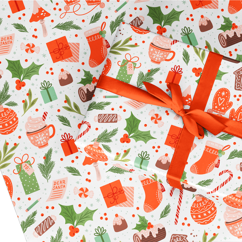 My Favorite Things Wrapping Paper
