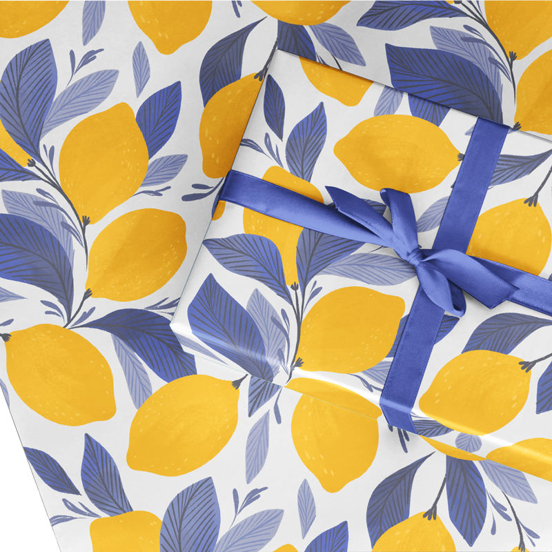 NEW! Lemonisa Wrapping Paper