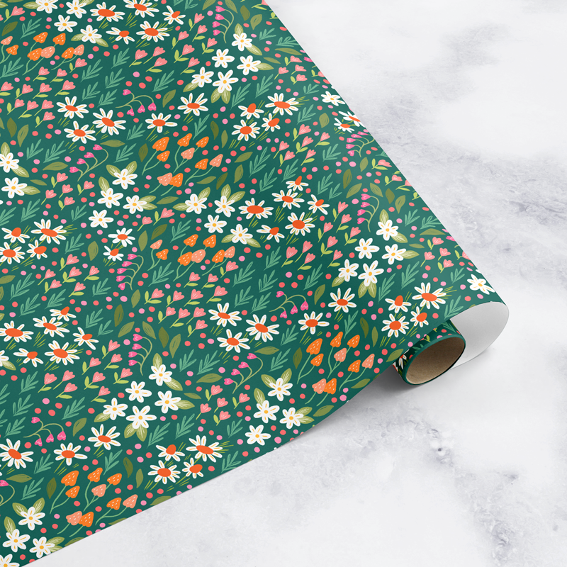 NEW! Wildflower Fields Wrapping Paper