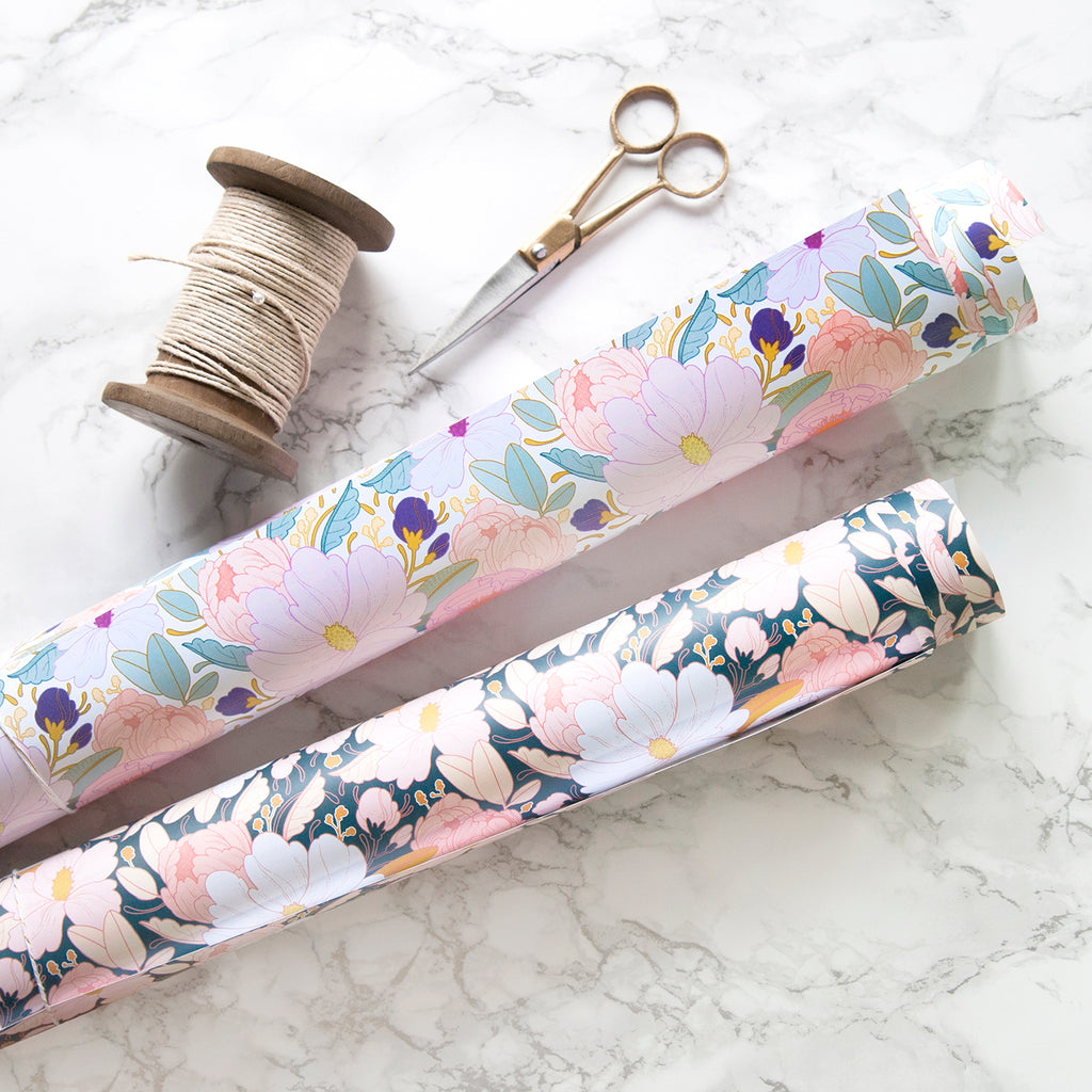 Full Floral Wrapping Paper
