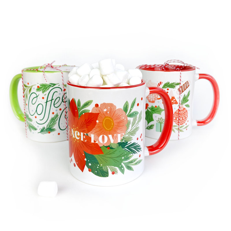 My Favorite Things Holiday Mug