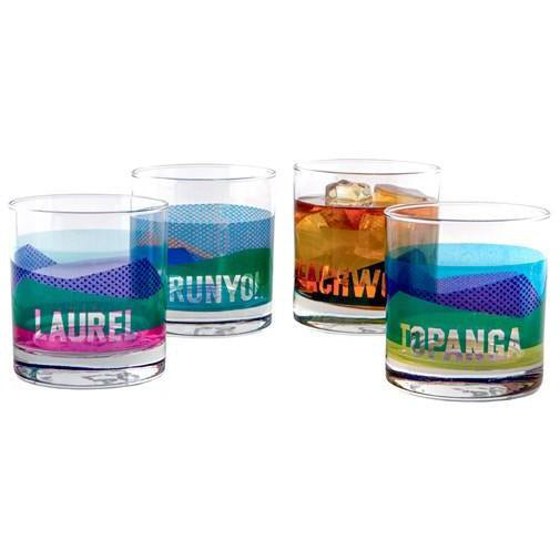 Canyons Tumbler Glass Set
