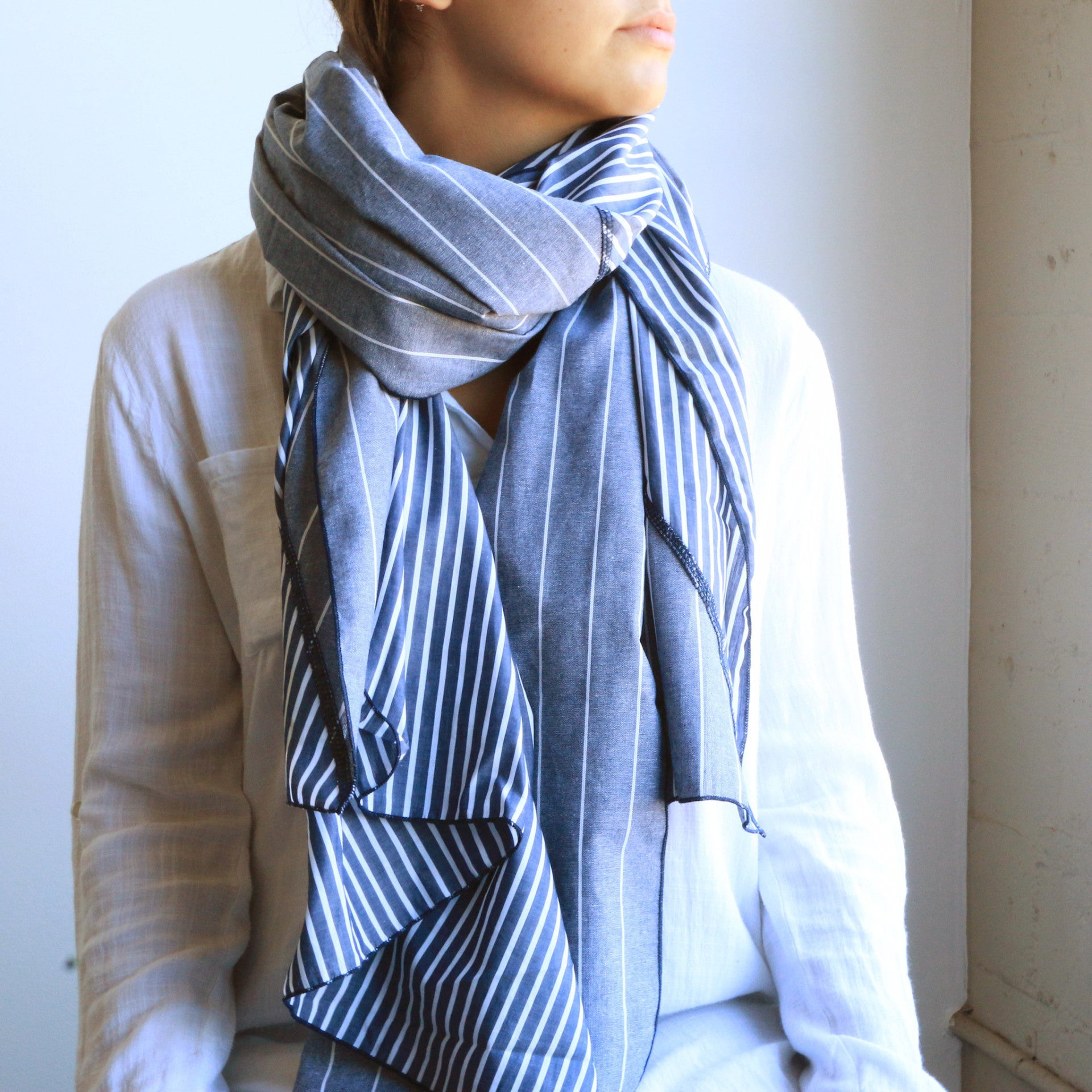Diagonal Cut Scarf
