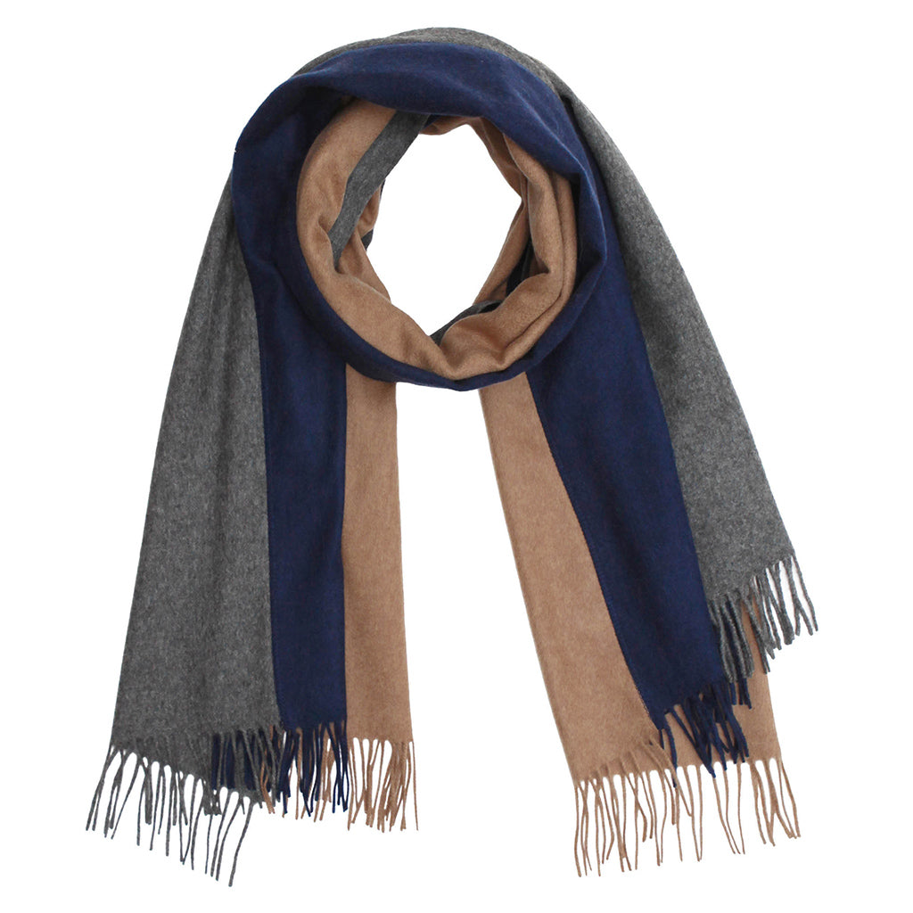 Trio Brushed Wool Scarf