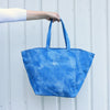 Denim Blue Tie Dye Tote